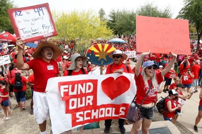 Clark County Teachers Affirm Strike Commitment If Funding: Can Nevada Teachers Strike?